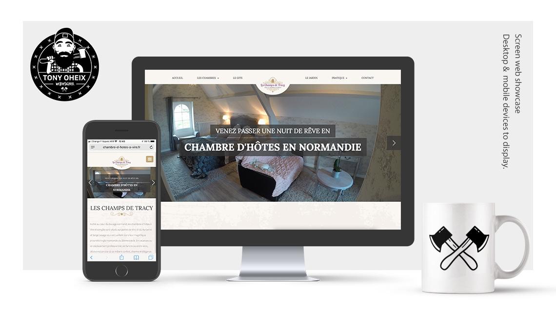 Création de site internet à Caen Chambre d'hôtes