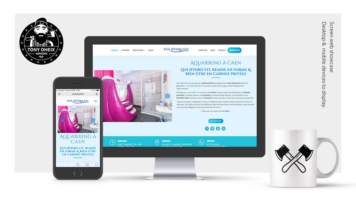 Création de site internet à Caen Aquabike