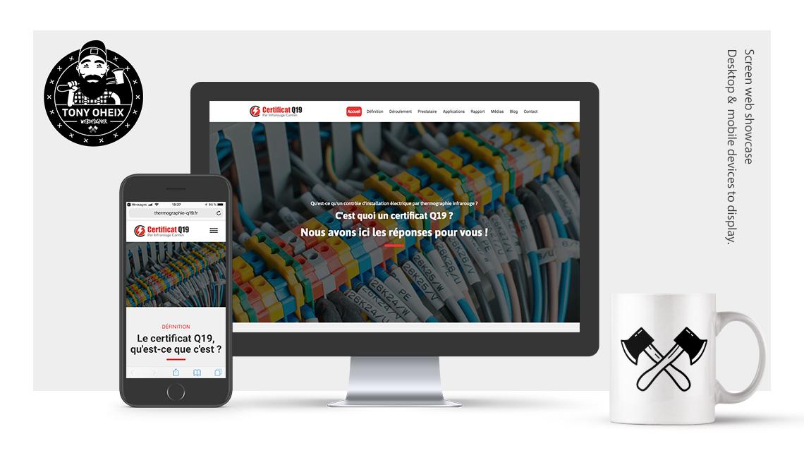 Création de site internet à Caen Certificat Q19
