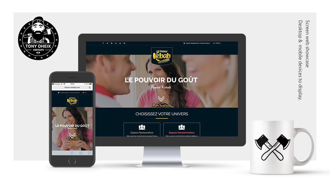 Création de site internet à Caen Kebab