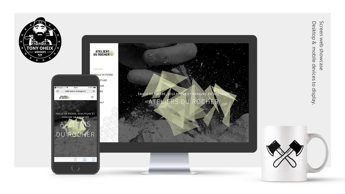 Création de site internet à Caen Taille de pierre