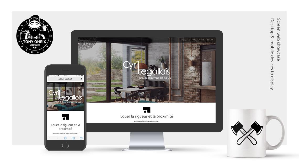 Création de site internet à Caen Administration immobilier