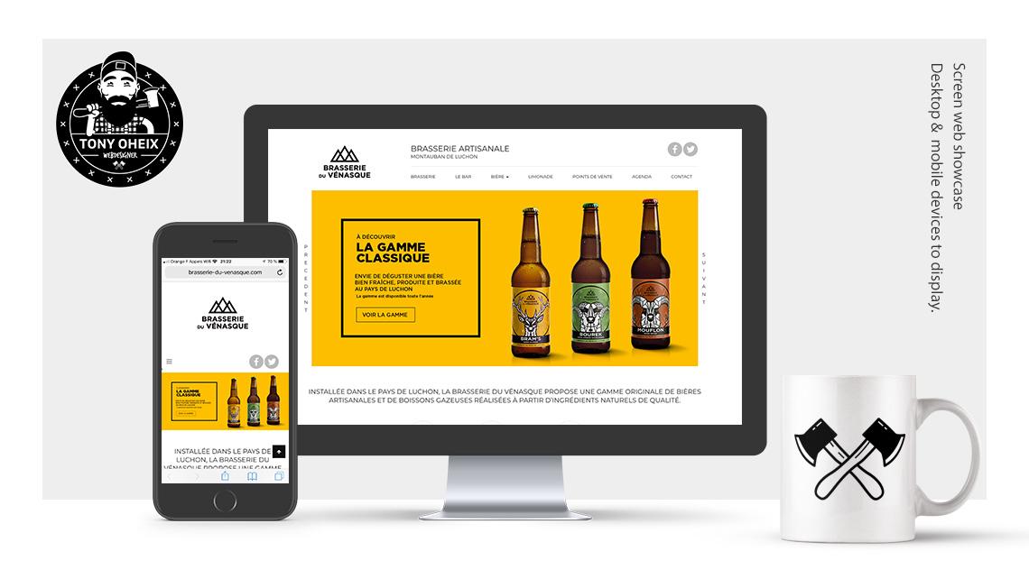Création de site internet à Caen Brasserie