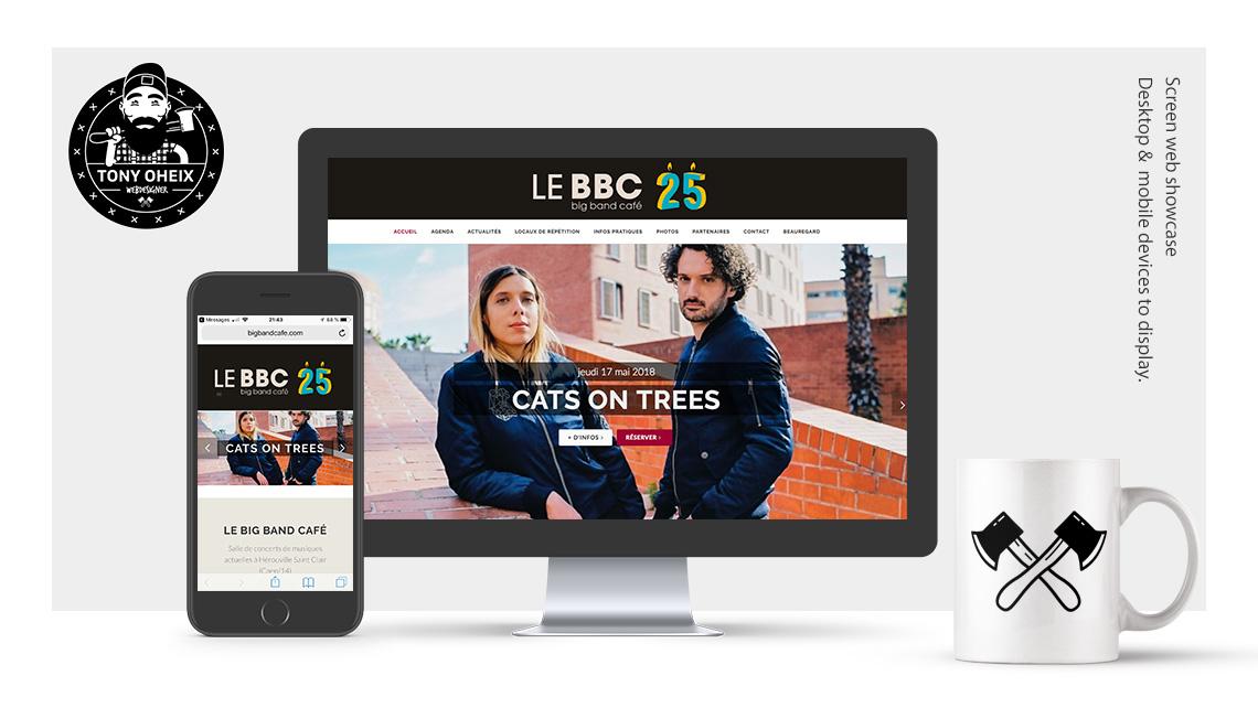 Création de site internet à Caen Salle de concert