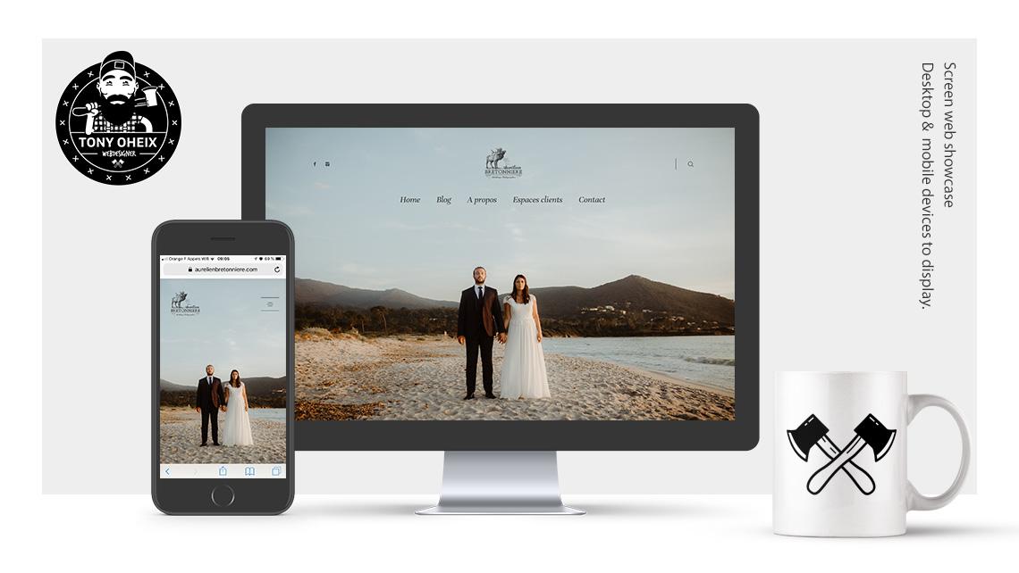 Création de site internet à Caen Photographe de mariage
